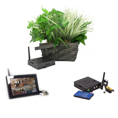KJB Security Products, Inc. Plant Wireless Hidden Camera