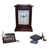 KJB Security Products, Inc. Rectangle Clock Wireless Hidden Camera System - Zone Shield Series