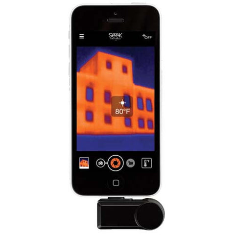 Green Supply Thermal Imaging Camera Lightning Connector For iOS Devices