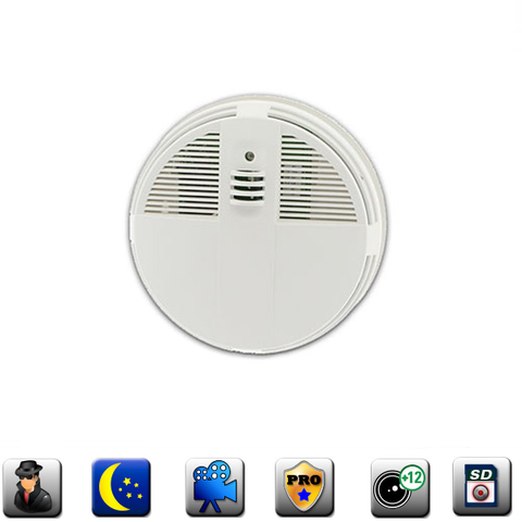 Productive Electronics LLC Smoke Detector IP Hidden Camera w/ DVR - Live View Series