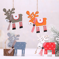 DIY Wooden Christmas Ornaments including Christmas Trees, Reindeer, Pendants and more! Makes an excellent Christmas Gift! - Ignite Shopping
