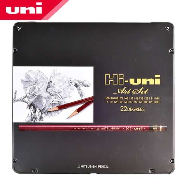 Uni Mitsubishi Hi-Uni Pencil Set