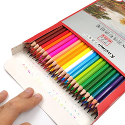 Kasimir Colored Pencils Watercolor Oil Based Pencil Set of 72 - Ignite Shopping