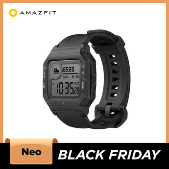 2021 Bluetooth Smartwatch - The Amazfit Neo Smart Watch
