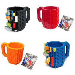 Coffee Mug - 350ml DIY Lego Mug - The perfectly creative coffee mug - Ignite Shopping