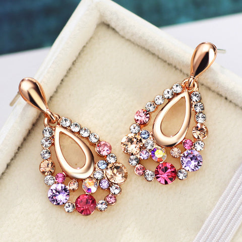 Colorful Long Drop Earring