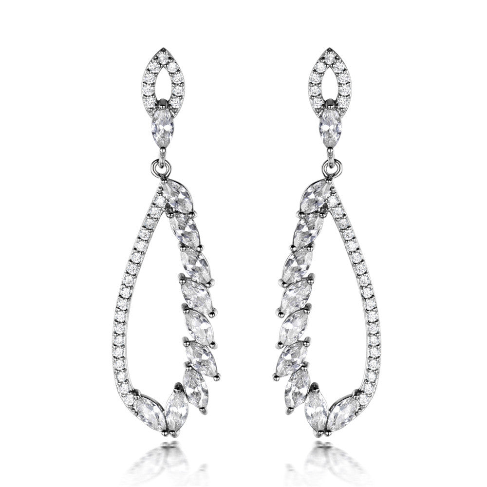 Dangly Crystal Earrings