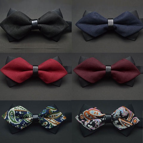 High Quality Butterfly Knot Men's Bow ties in Assorted Patterns