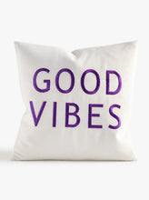 Load image into Gallery viewer, Good Vibes Throw Pillow