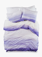 Load image into Gallery viewer, 100% Cotton Endless Purple Duvet Bed Set