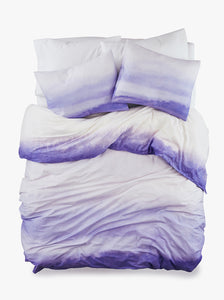 100% Cotton Endless Purple Duvet Bed Set