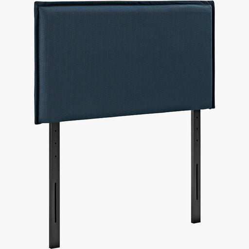 Navy Blue Solid Headboard