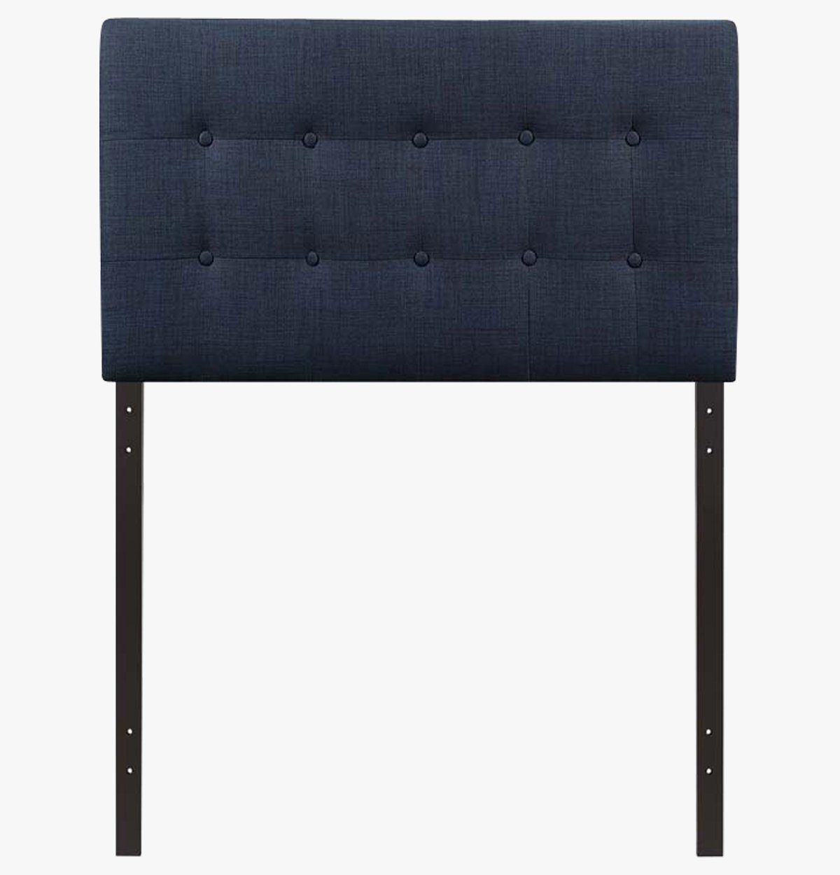 Navy Blue Tufted Headboard