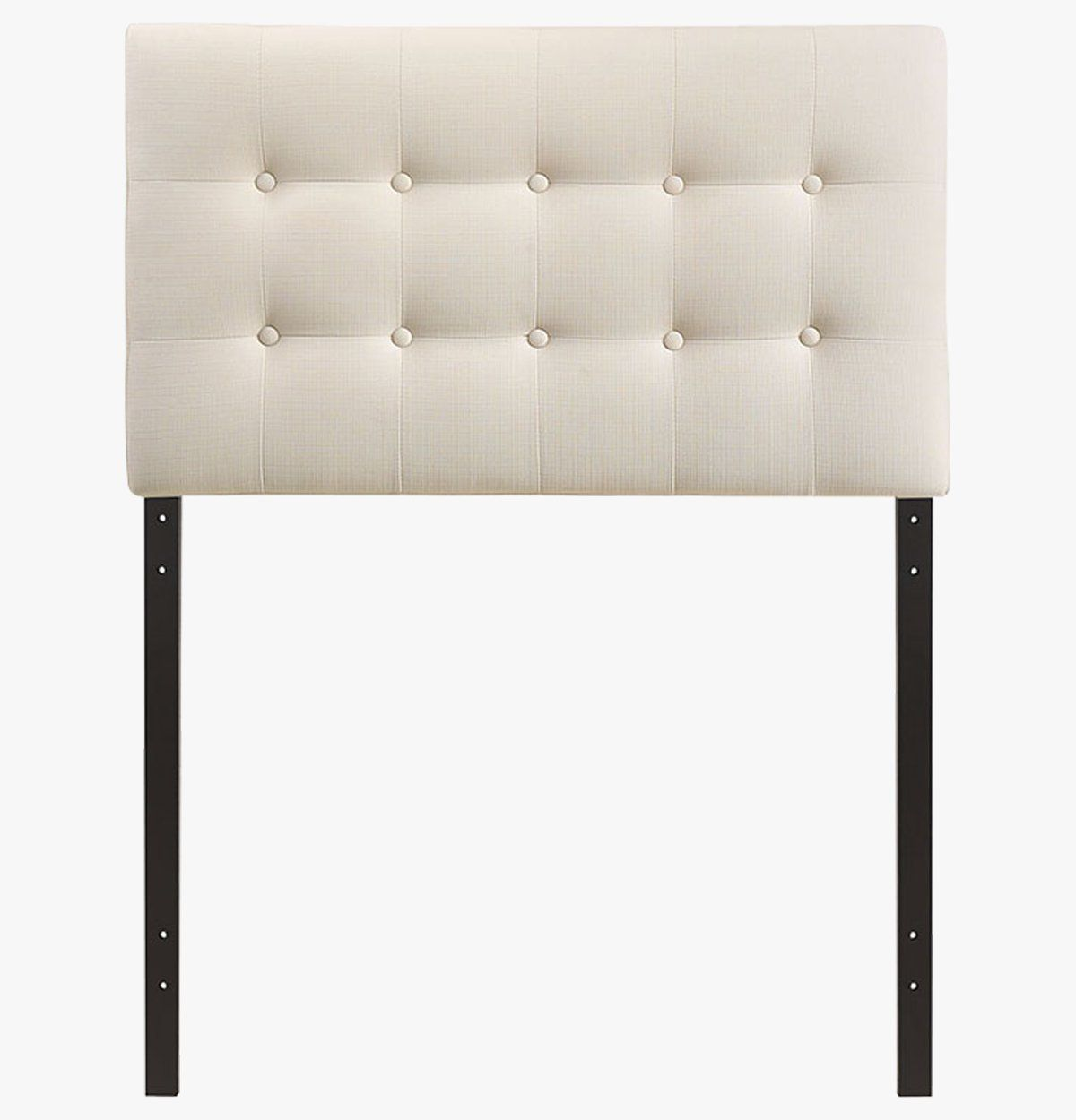 Ivory Tufted Headboard