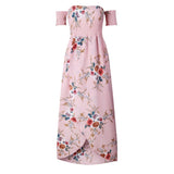 Boho Style Long Floral Dress - Crazy Fox