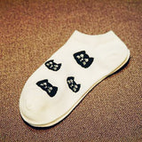 Women's Cat Socks - Crazy Fox
