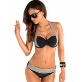 Dual Colour Low-Waist Bikini - Crazy Fox