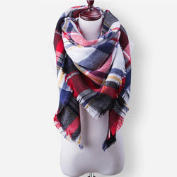 Plaid Essential Scarf - Crazy Fox