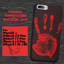 Thermal Sensor iPhone Case - Crazy Fox