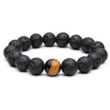 Tiger Eye Natural Stone Bracelets - Crazy Fox