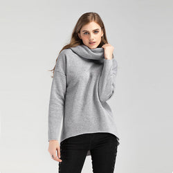 Wide Collar Sweatshirt - Crazy Fox