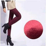 Thick Velvet Elastic Leggings - Crazy Fox