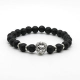 Black Lava Lion Bracelet - Crazy Fox