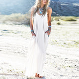 Maxi Beach Sundress - Crazy Fox