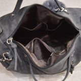 Vintage Leather Messenger Bag - Crazy Fox
