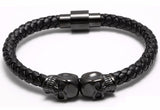 Double Skull Bracelet - Crazy Fox
