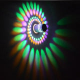 LED Spiral Wall Light - Crazy Fox