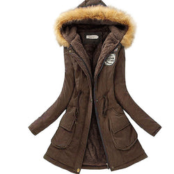 Winter Parka Jacket - Crazy Fox