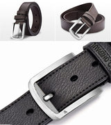 Designer's Leather Men's Belt Style 2 - Crazy Fox