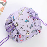 Drawstring Make Up Bag - Crazy Fox