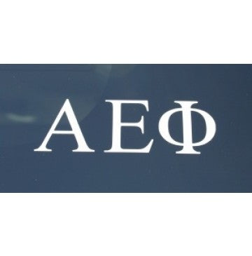 Alpha Epsilon Phi Decal