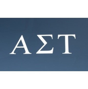 Alpha Sigma Tau Decal