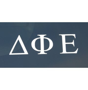 Delta Phi Epsilon Decal