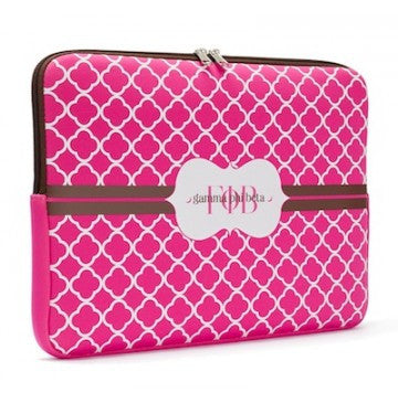 Gamma Phi Beta Laptop Sleeve