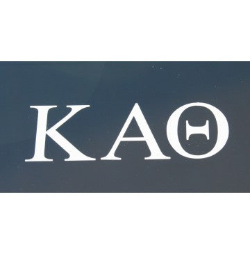 Kappa Alpha Theta Decal