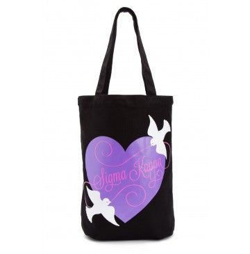 Sigma Kappa Dove Love Tote Bag