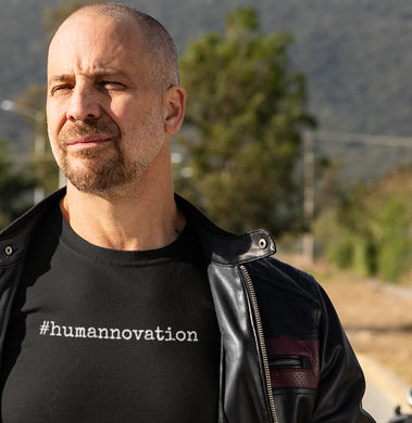 #humannovation- Men's crew neck