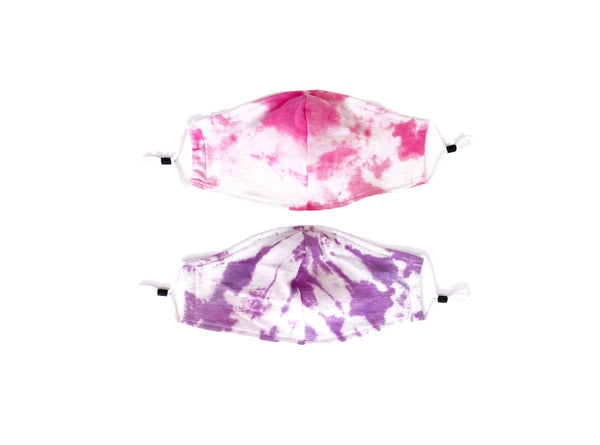 TIE DYE PINK AND PURPLE