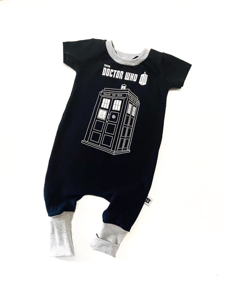 Dr. who pull on romper