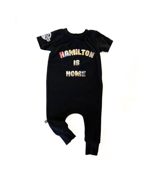 HAMILTON IS HOME PULL ON ROMPER