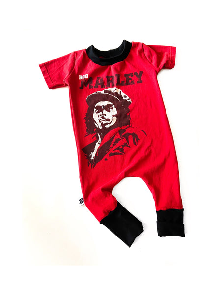 BOB MARLEY PULL ON ROMPER