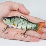 Segment Swimming Fishing Lure
