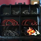 128pcs Fishing Tackle Box