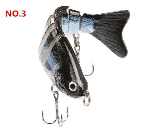 High Simulation 7 Segment Fishing Lure
