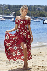 BE WITH ME MAXI DRESS