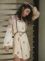 Gypsy Embroidered Dress